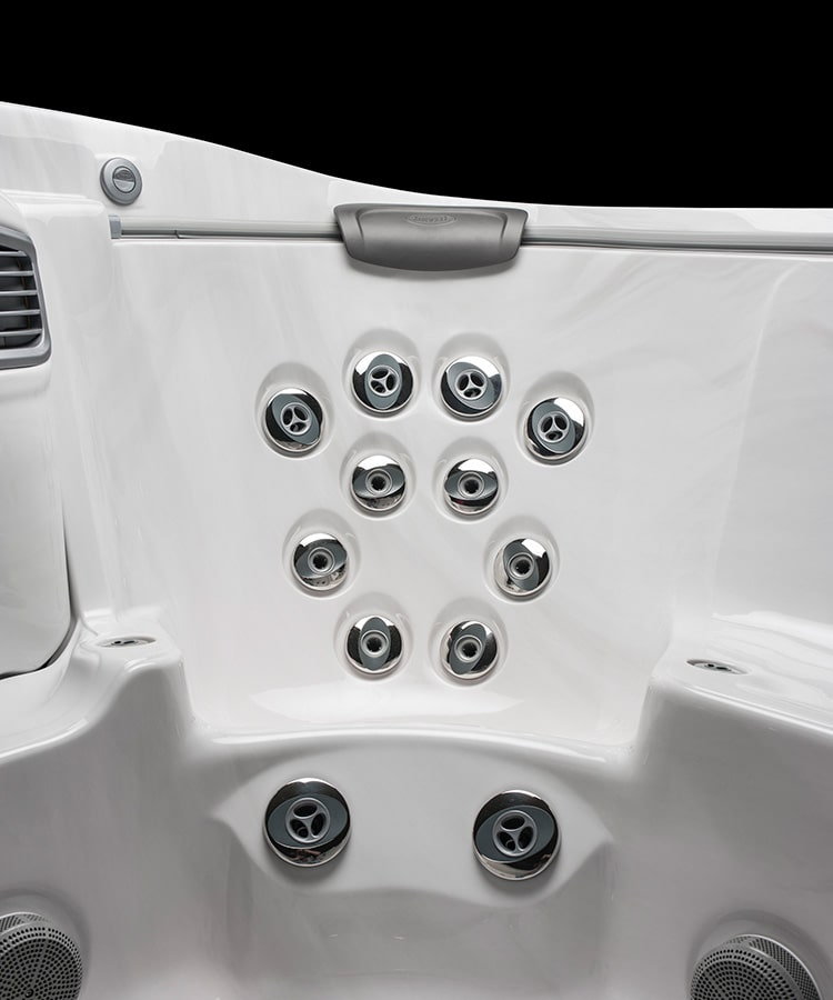 J-500 Collection hot tub Jets at Red Rock Spas