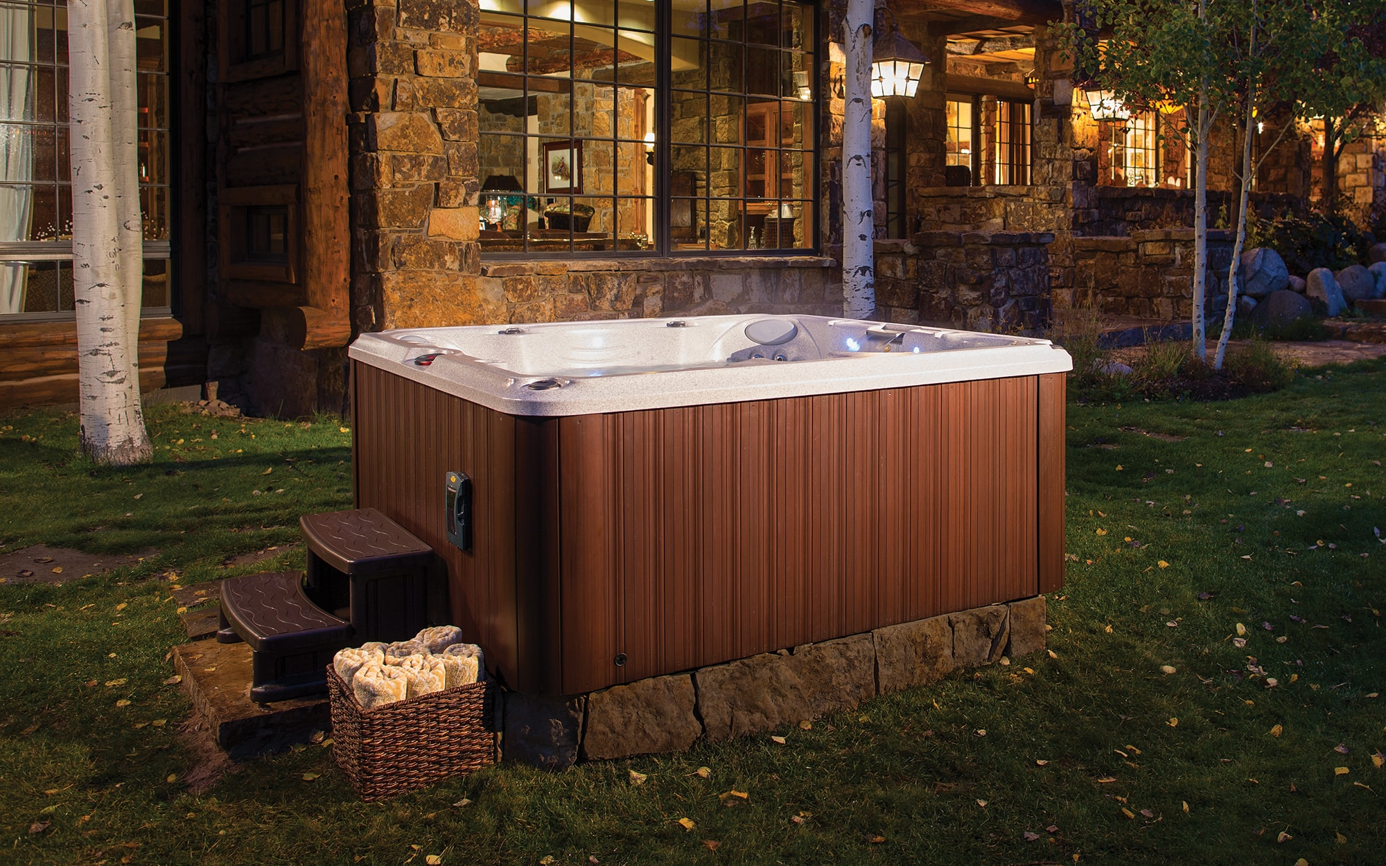 jacuzzi hot tubs installation J-245 in Utah