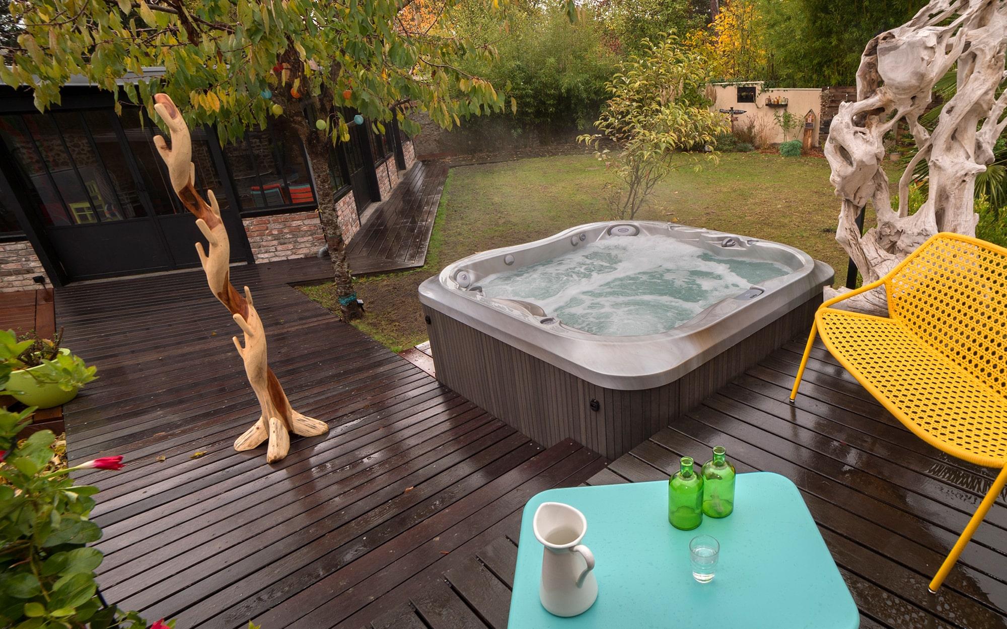 jacuzzi hot tubs backyard installation in Utah