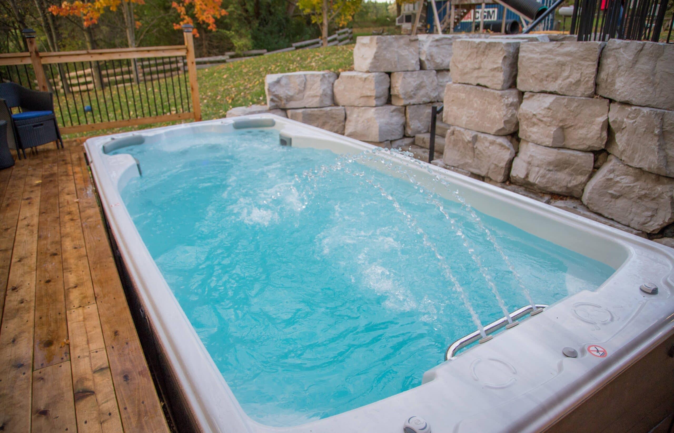 Enjoy Hydrotherapy in a Swimlife Swim Spa